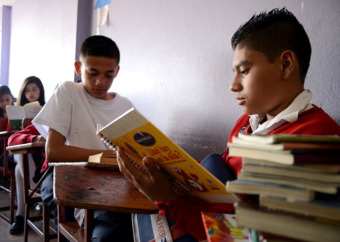 El colegio en Bosa donde los estudiantes leen 10 libros al año