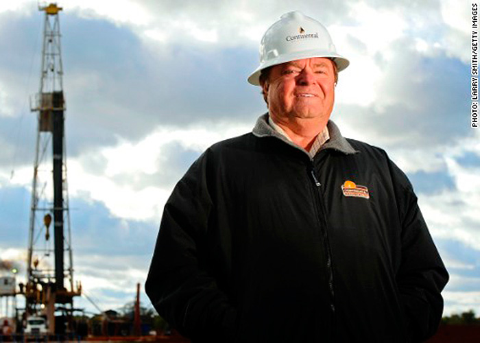 El camionero que se convirtió en rey del petróleo