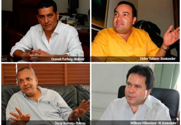 Gobernadores con rabo de paja