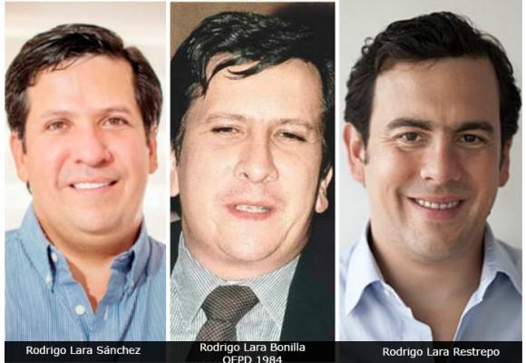La rivalidad entre los hijos de Rodrigo Lara se agudiza en la contienda por la alcaldía de Neiva
