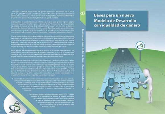 Modelo de desarrollo con igualdad de género