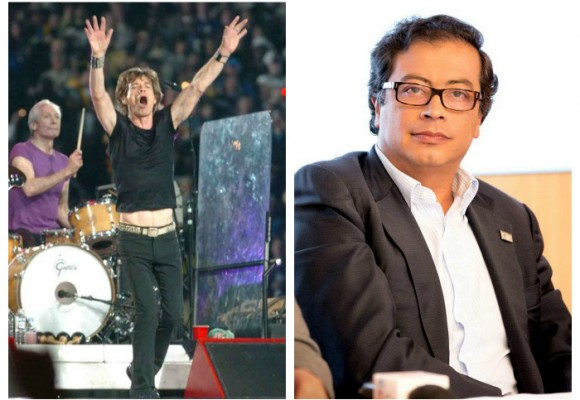 Imprudencia de Petro pone en peligro concierto de los Rolling Stones en Bogotá