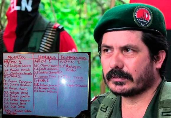 Pablito, el comandante del ELN estaría detrás de la muerte de 12 militares en el Cocuy