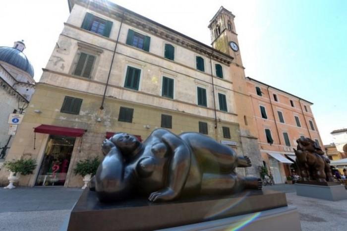 Escultura de Botero en Pietrasanta/ Foto:cubasi.cu