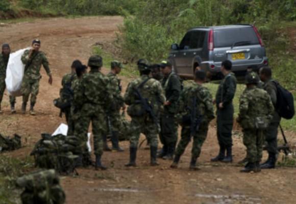 Once soldados muertos en emboscada del ELN
