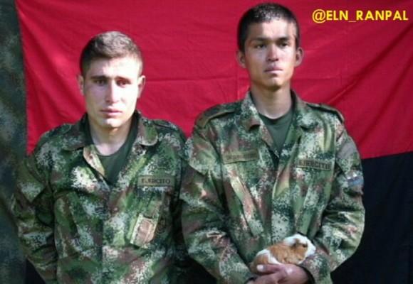 ELN revela pruebas de supervivencia de los dos soldados que se llevaron en Boyacá