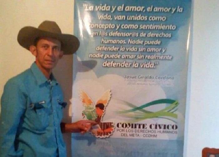 El doloroso asesinato del líder del Casanare Daniel Abril