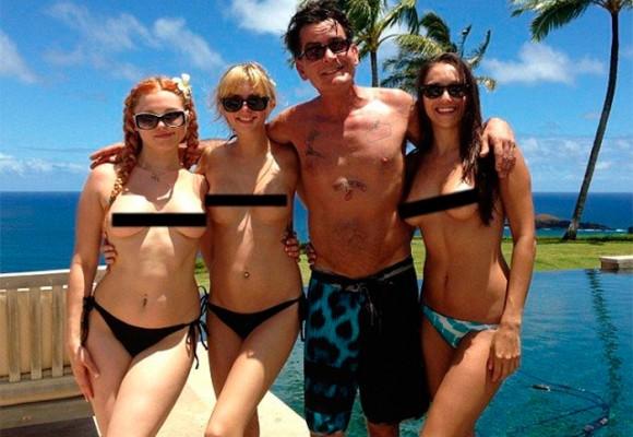Charlie Sheen y las 5000 orgías en las que pudo haberse convertido en portador de VIH