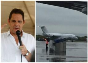 Germán Vargas, el tripulante del FAC-002 en Cartagena