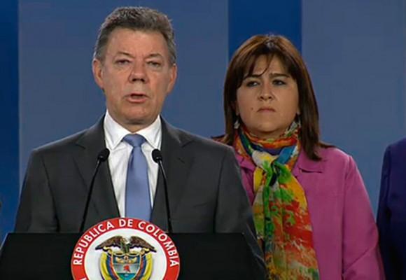 El cerco a Santos en Palacio