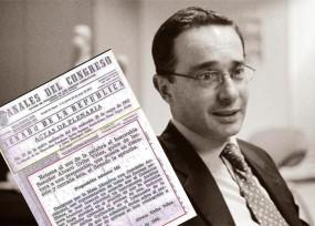 El texto de Uribe al Congreso para el indulto al M-19 por el holocausto del Palacio