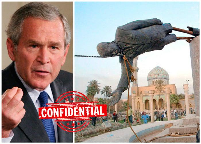 Bush manipuló las pruebas para declararle la guerra a Irak, dice la CIA