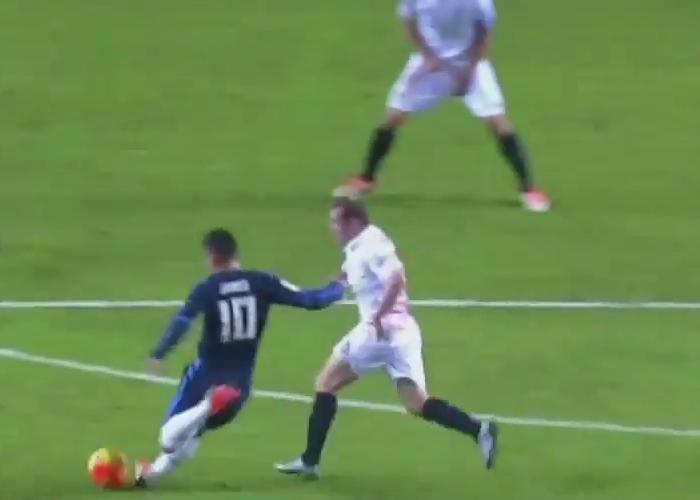 En video: el golazo de James Rodríguez tras dos meses de lesión