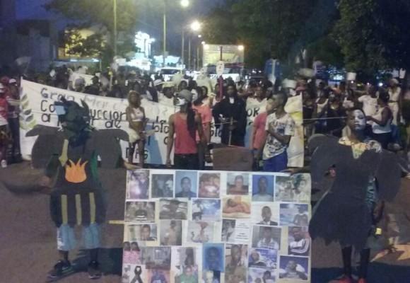 El barrio Llano Verde alzó la voz contra la muerte criminal