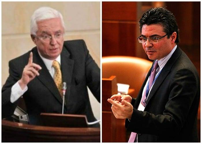 El senador Robledo le hizo un debate en congreso al Ministro de salud por el caso Saludcoop a finales del 2014