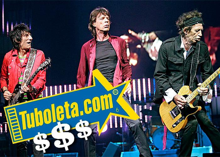 Los $3.700 millones que gana Tuboleta con el concierto de los Rolling Stones