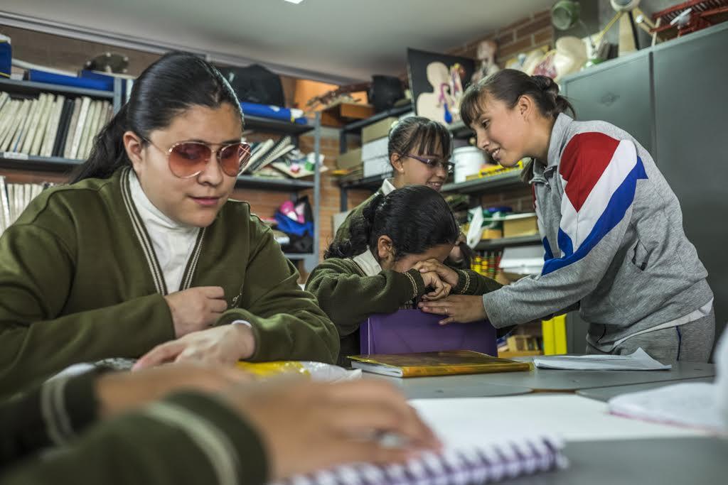 La Profe En Bogot Que Ense A El Lenguaje De Los Ciegos A
