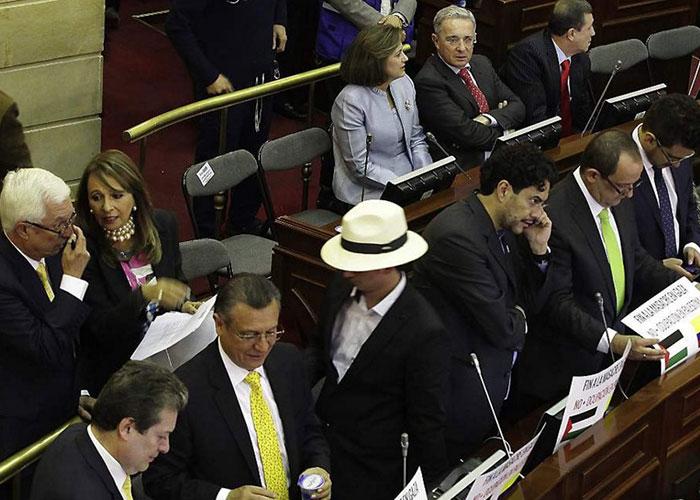 Senado no sesionó por partido de Colombia ¡Que viva el patriotismo!