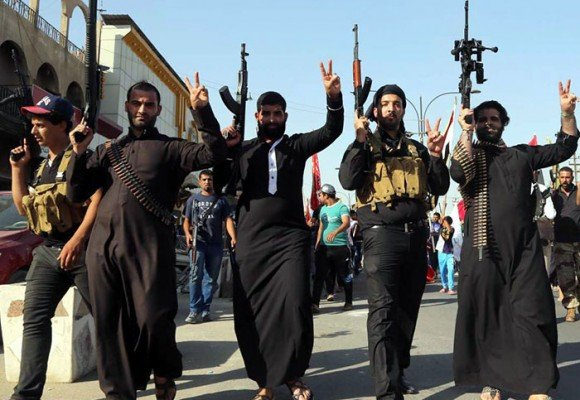 Geografía del poder del Estado Islámico