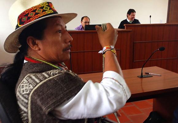 Feliciano Valencia será trasladado a un Centro de Armonización Indígena