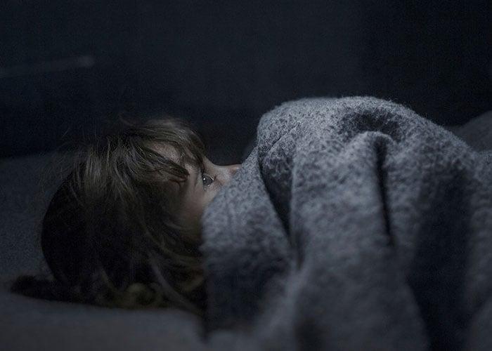¿Dónde duermen los niños sirios refugiados?