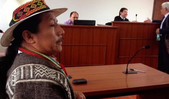 Corte Suprema revisará el fallo condenatorio contra Feliciano Valencia