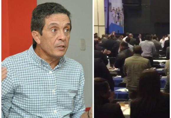 Abucheo al gerente de Electricaribe en cumbre de alcaldes y gobernadores electos