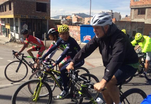 La competencia entre Nairo Quintana y Peñalosa