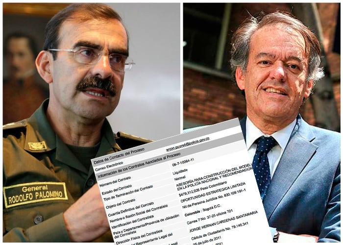 Jorge Hernán Cárdenas, mega contratista del gobierno Santos y la Policía Nacional