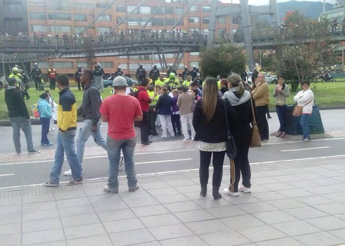 Empleados de Saludcoop IPS no se aguantaron más