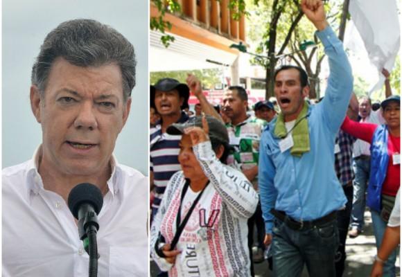 Santos sanciona ley Zidres en contravía de la gente del campo
