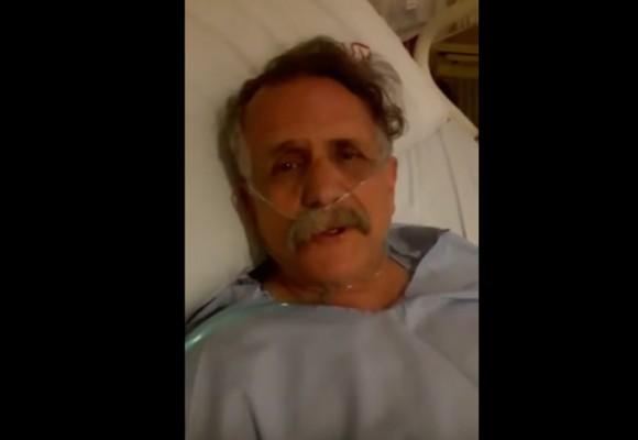 VIDEO: El hombre Caimán se reporta vivo después de un infarto