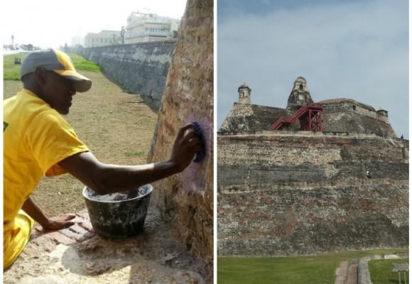 ¿Quién cuida las murallas de Cartagena?