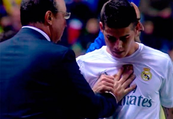"""""""James está frustrado en el Real Madrid"""", confiesa su esposa"""