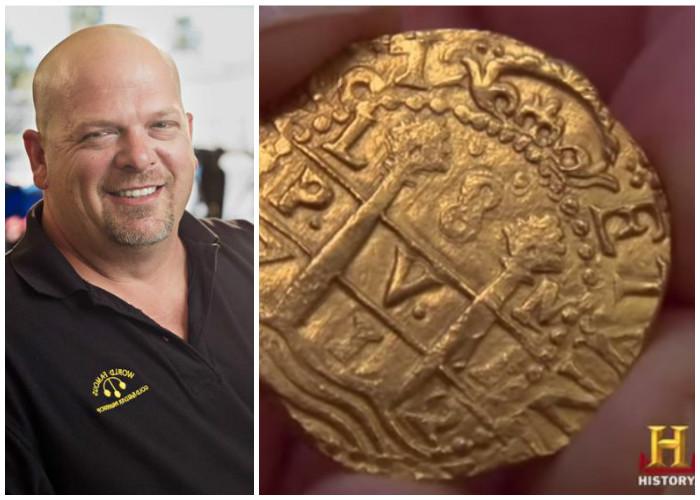 En video, compran una moneda del galeón San José en 'El precio de la historia'
