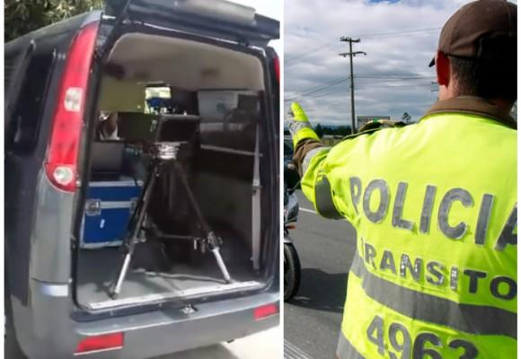 ¿Radares de velocidad ilegales de la Policía de Tránsito en carros particulares?