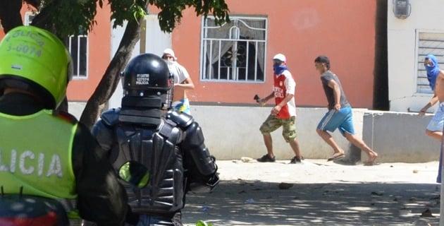La administración fortaleció la Policía pero al mismo tiempo implementó acciones sociales directas en los barrios