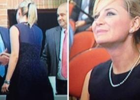 Natalia Springer recibe condecoración de la Fiscalía General de la Nación