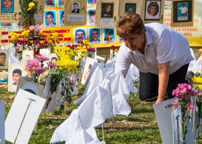 Teresita Gaviria, una vida buscando a los desaparecidos
