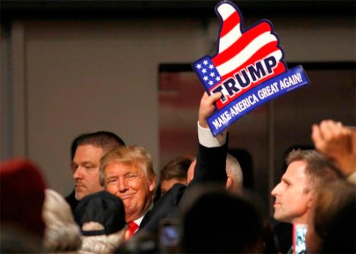 La campaña presidencial de Donald Trump que beneficia a ISIS