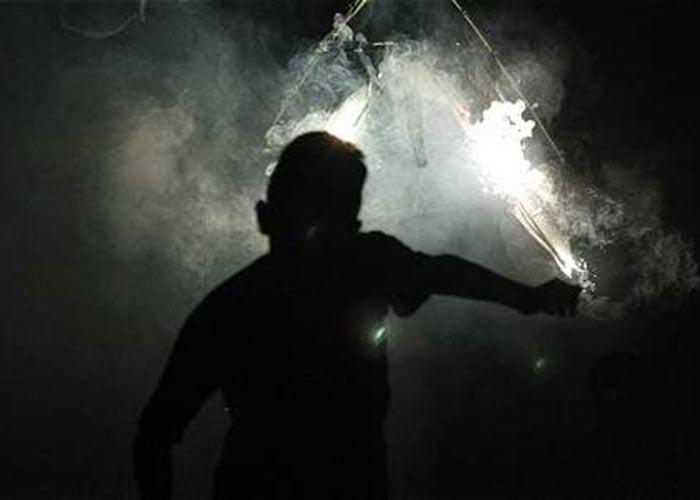 Crudo testimonio de una víctima de la pólvora