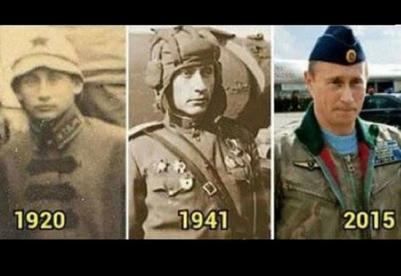 Las fotos que prueban la inmortalidad de Putin