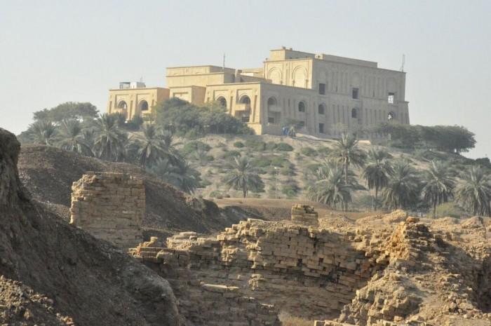 Palacio Norte y Palacio de Sadam Husein. Foto: Víctor Currea 28-12-2013