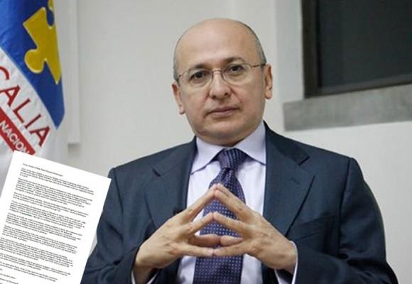Carta abierta al señor fiscal, Eduardo Montealegre