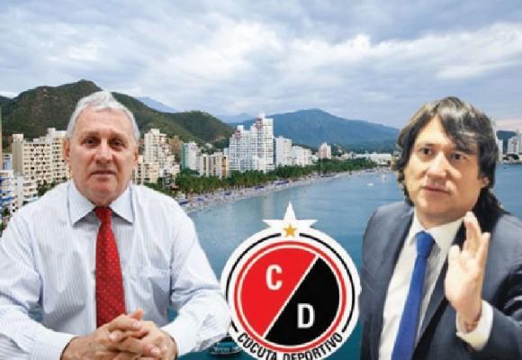 El alcalde César Rojas le regaló el Cúcuta Deportivo al mercenario Cadena