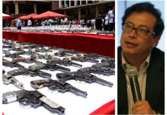 Desarme anunciado por Santos fue implementado por Petro
