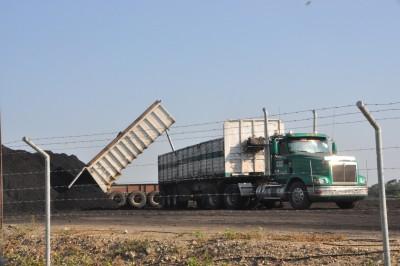 Descarga de carbón Coal Corp. Foto: Víctor de Currea-Lugo