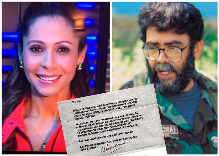 Revelaciones de Erika Fontalvo sobre sus encuentros con Alfonso Cano