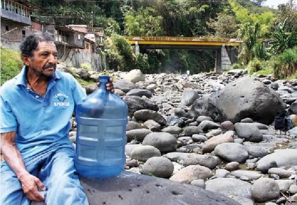 ¿Por qué hay escasez de agua en Colombia?
