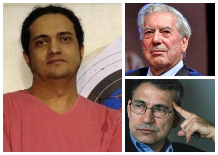 Las protestas de varios escritores contra Arabia Saudita